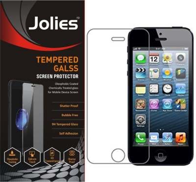 Jaifaon Tempered Glass Guard for Apple iPhone 4, Apple iPhone 4s(Pack of 2)