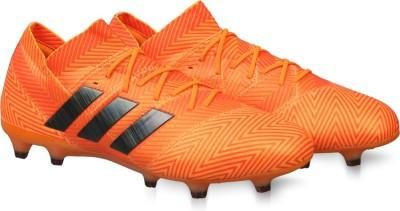 cheap for discount 0a1df ea5b5 Buy ADIDAS NEMEZIZ 18.1 FG Football Shoes For Men(Black) on Flipkart    PaisaWapas.com