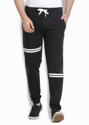 Billion Perfect Fit Printed Men Black Track Pants