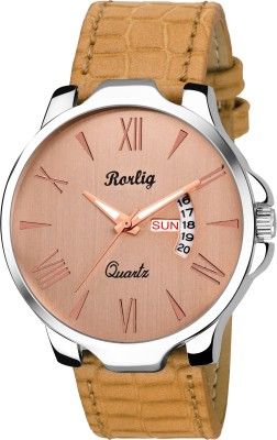 Rorlig RR-1602 Basic Day and Date series Watch  - For Men