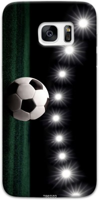Tecozo Back Cover for Samsung Galaxy S7 Black, Waterproof, Plastic