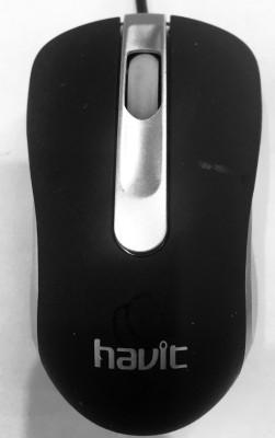 Havit hv-ms326 Wired Optical Mouse(USB 2.0, Black)