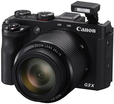 Canon PowerShot G3 X(20.2 MP, 25x Optical Zoom, 25x Zoom Digital Zoom,...