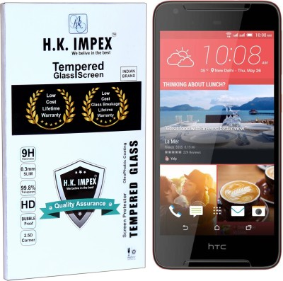 H.K.Impex Tempered Glass Guard for HTC desire 628,htc desire 628 tempered glass in mobile screen guard(full body cover glass)(Pack of 1)