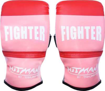 Hitman Fighter PVC Red Punching, Boxing Gloves Multicolor Hitman Boxing Gloves