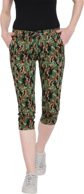 RMG FASHION Relaxed Women Multicolor Trousers