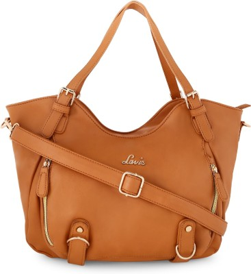 Lavie - Anushka collection Women Brown Tote at flipkart