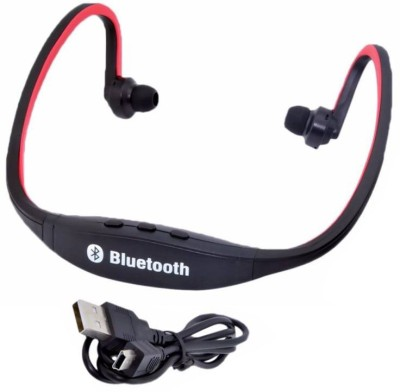 13-HI-13 BS19C Bluetooth Wireless Bluetooth Headset With Mic Wireless bluetooth Headphone (Red, Black, In the Ear) Bluetooth Headset with Mic(Red, In the Ear) Flipkart
