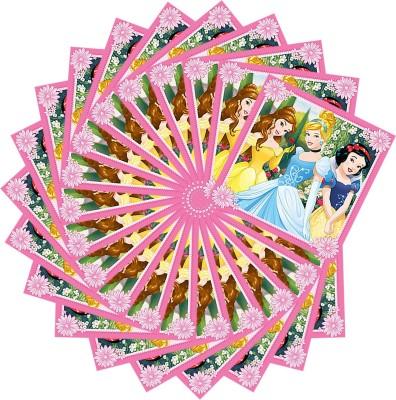 PARTY PROPZ Princess Paper Tissue Napkins Pack (20 Pcs) Multicolor Napkins(20 Sheets)