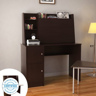 Flipkart Perfect Homes Dalton Study Table(Free Standing, Finish Color - Wenge)