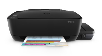 HP DeskJet Ink Tank GT 5820 Multi function Wireless Printer Black, Refillable Ink Tank