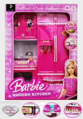 Jack Royal Barbie Modern Kitchen Set