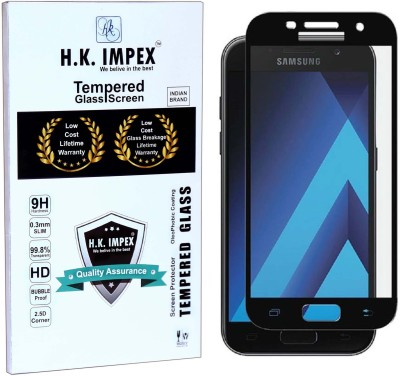 H.K.Impex Tempered Glass Guard for Samsung Galaxy A7 2017,samsung galaxy a7 2017 tempered glass in mobile screen guards (full display cover).