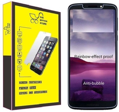 Efficia Tempered Glass Guard for Motorola Moto G6 Play(Pack of 1)