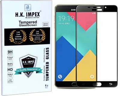 H.K.Impex Tempered Glass Guard for Samsung Galaxy A9 2016 /A9 PRO,a9 2016 tempered glass in mobile screen guard(full body cover glass)(Pack of 1)
