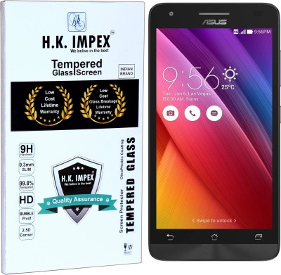 H.K.Impex Tempered Glass Guard for Asus Zenfone Go (5 inch).(Pack of 1)