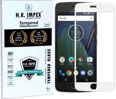 H.K.Impex Tempered Glass Guard for Motorola Moto G5 Plus