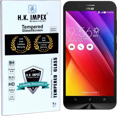 H.K.Impex Tempered Glass Guard for asus Zenfone MAX ZC550KL (5.5 inch display)(Pack of 1)