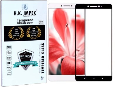H.K.Impex Tempered Glass Guard for Lenovo K6 Note,lenovo k6 note tempered glass in mobile screen guard(Pack of 1)