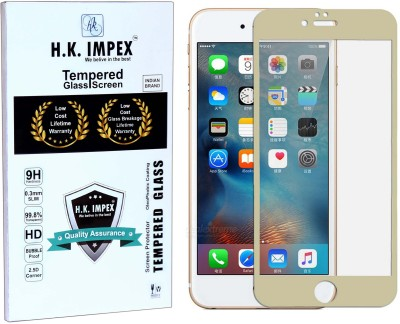 H.K.Impex Tempered Glass Guard for Apple iphone 6 Plus(5.5),apple iphone 6 plus tempered glass in mobile screen guard(Pack of 1)