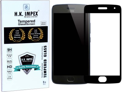 H.K.Impex Tempered Glass Guard for Motorola Moto G2/Moto G 2nd GEN,motorola moto g2 tempered glass in mobile screen guard (full body cover glass)(Pack of 1)