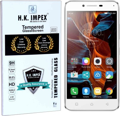 H.K.Impex Tempered Glass Guard for Lenovo Vibe K5 Plus(Pack of 1)