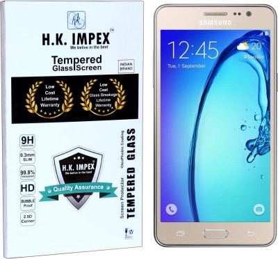 H.K.Impex Tempered Glass Guard for Samsung Galaxy On5 / On5 Pro ,samsung galaxy on5 pro, samsung galaxy on5 tempered glass in mobile screen guard(Pack of 1)