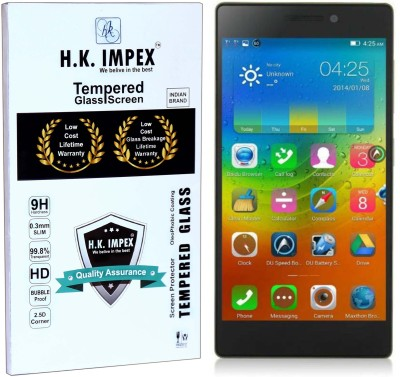 H.K.Impex Tempered Glass Guard for Lenovo Vibe X2,lenovo vibe x2 tempered glass in mobile screen guard (full display cover).(Pack of 1)