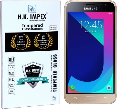 H.K.Impex Tempered Glass Guard for Samsung Galaxy J3 Pro,samsung galaxy j3 pro tempered glass in mobile screen guard(Pack of 1)