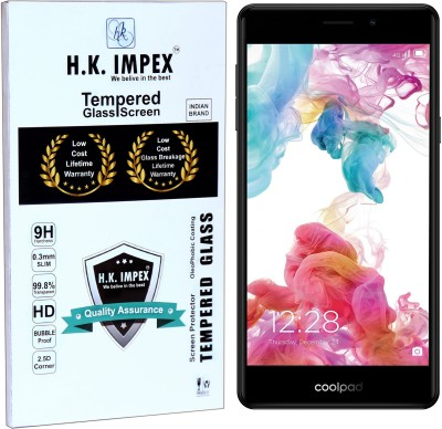 H.K.Impex Tempered Glass Guard for coolPad Mega 2.5D