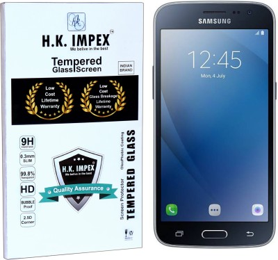 H.K.Impex Tempered Glass Guard for Samsung Galaxy J2 2016,samsung galaxy j2 2016 tempered glass in mobile screen guard(Pack of 1)
