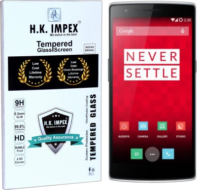 H.K.Impex Tempered Glass Guard for Apple iPhone 6(Pack of 1)