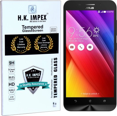 H.K.Impex Tempered Glass Guard for asus Zenfone MAX(Pack of 1)