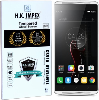 H.K.Impex Tempered Glass Guard for Lenovo Vibe X3(5.5), Lenovo Vibe X3(Pack of 1)