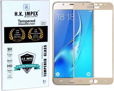 H.K.Impex Tempered Glass Guard for Samsung Galaxy J7 Prime(Pack of 1)