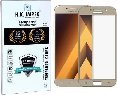 H.K.Impex Tempered Glass Guard for Samsung Galaxy A7-2017(Pack of 1)
