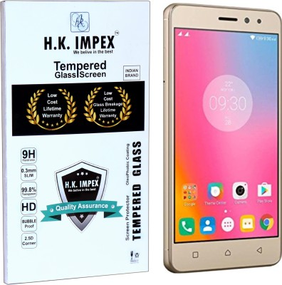 H.K.Impex Tempered Glass Guard for Lenovo K6 Power(Pack of 1)