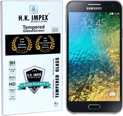 H.K.Impex Tempered Glass Guard for Samsung Galaxy E5 (5.0 inch).(Pack of 1)
