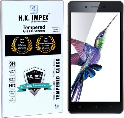 H.K.Impex Tempered Glass Guard for oppo neo 7,oppo neo 7 tempered glass in mobile screen guard(full body cover glass)