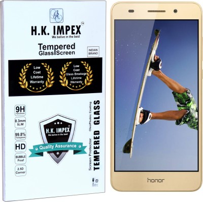 H.K.Impex Tempered Glass Guard for Honor holly 3,honor holly 3 tempered glass in mobile screen guard(full body cover glass)(Pack of 1)