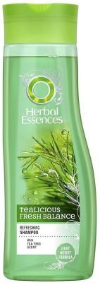 Herbal Essences Tealicious Fresh Balance Refreshing Shampoo - 400ml(400 ml)