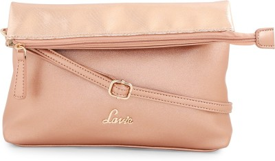 166ce0dc366 57% OFF on Lavie Women Gold PU Sling Bag on Flipkart