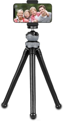 ReTrack 10Inch 360 Degree High Quality Flexible Octopus Tripod with Bracket Tripod(Black, Supports Up to 1000 g) 1