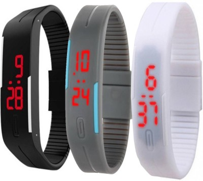 Fashion Gateway LED Digital band watch PK-162 (for all age group) Watch  - For Boys & Girls