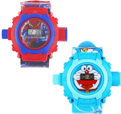 Arihant Retails Red::Blue (Best for Brithday gift and kids gift) Watch - For Boys & Girls