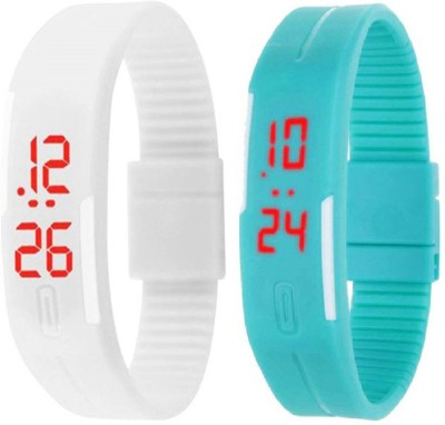 Fashion Gateway LED Digital band watch PK-163 (for all age group) Digital Watch  - For Boys & Girls