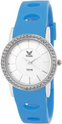 Fogg 3038-BL-CK MODISH Analog Watch For Women