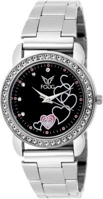 Fogg 14002-BK-CK  Analog Watch For Women
