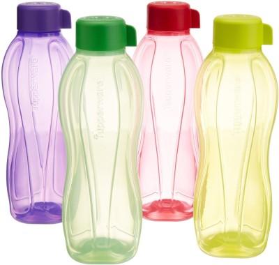 ezeestore Tupperware Aqua Safe 1000 ml Bottle(Pack of 4, Multicolor)