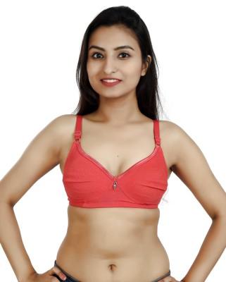 Libra Women T-Shirt Non Padded Bra(Red)